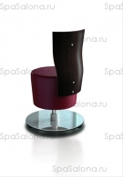 "Стул мастера педикюра ""SUITE STOOL WITH BACKREST"""